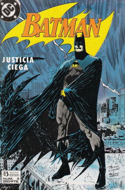 Cover for Batman [Batman Justicia Ciega] (Zinco, 1990 series) #3