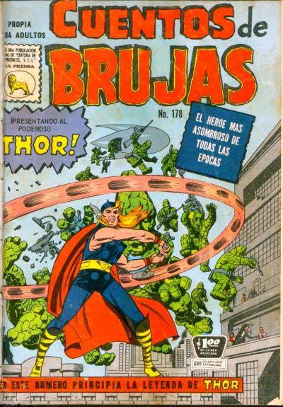 Cover for Cuentos de Brujas (Editora de Periódicos La Prensa S.C.L., 1951 series) #178