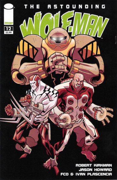 Cover for The Astounding Wolf-Man (Image, 2007 series) #12