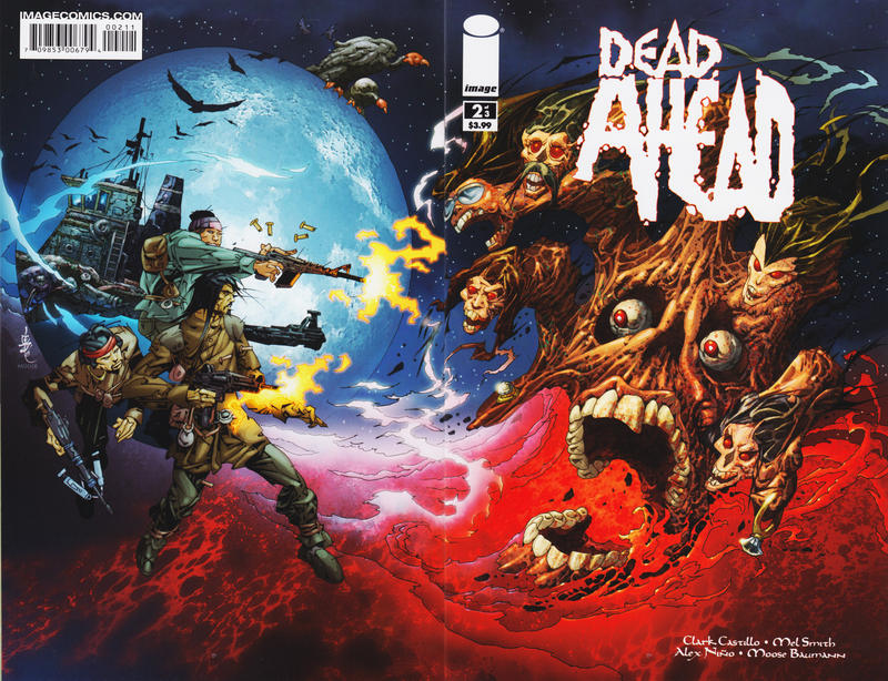 Cover for Dead Ahead (Image, 2008 series) #2