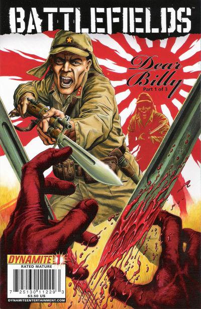 Cover for Battlefields: Dear Billy (Dynamite Entertainment, 2009 series) #1 [Gary Leach Cover]