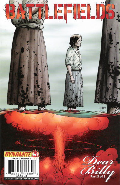 Cover for Battlefields: Dear Billy (Dynamite Entertainment, 2009 series) #3