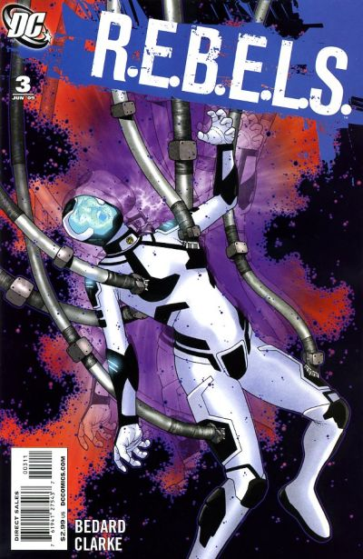 Cover for R.E.B.E.L.S. (DC, 2009 series) #3
