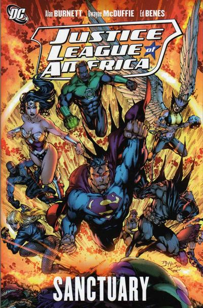 Cover for Justice League of America (DC, 2007 series) #4 - Sanctuary
