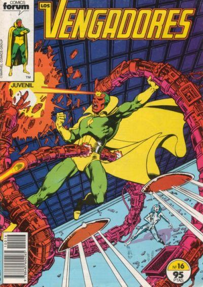 Cover for Los Vengadores (Planeta DeAgostini, 1983 series) #16