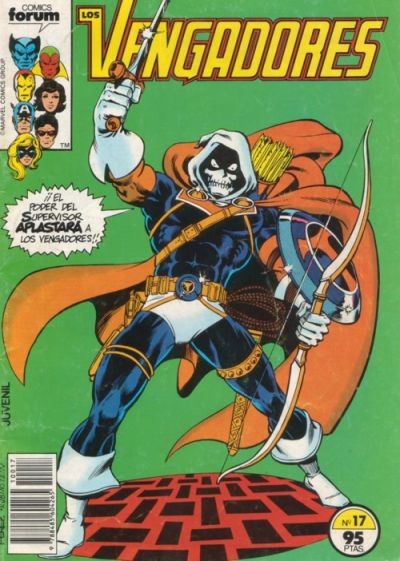 Cover for Los Vengadores (Planeta DeAgostini, 1983 series) #17