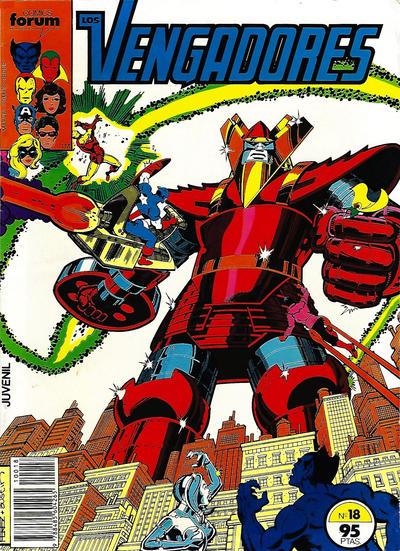 Cover for Los Vengadores (Planeta DeAgostini, 1983 series) #18