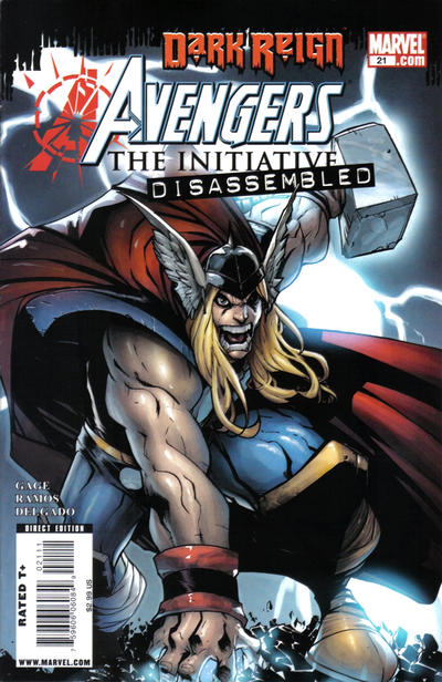 Cover for Avengers: The Initiative (Marvel, 2007 series) #21