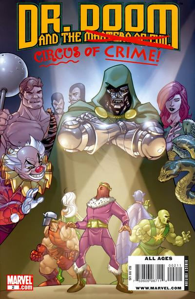 Cover for Doctor Doom and the Masters of Evil (Marvel, 2009 series) #2
