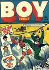 Cover for Boy Comics (Lev Gleason, 1942 series) #8