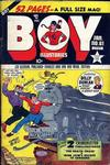 Cover for Boy Comics (Lev Gleason, 1942 series) #61
