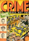 Cover for Crime Does Not Pay (Lev Gleason, 1942 series) #23