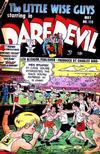 Cover for Daredevil Comics (Lev Gleason, 1941 series) #110