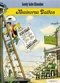 Cover Thumbnail for Lucky Lukes äventyr / Lucky Luke klassiker (Bonniers, 1979 series) #45 - Kusinerna Dalton