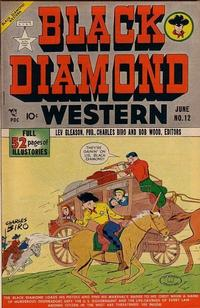 Cover Thumbnail for Black Diamond Western (Lev Gleason, 1949 series) #12