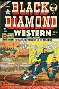 Cover Thumbnail for Black Diamond Western (Lev Gleason, 1949 series) #13
