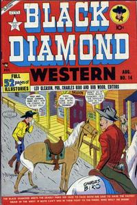 Cover Thumbnail for Black Diamond Western (Lev Gleason, 1949 series) #14