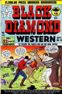 Cover Thumbnail for Black Diamond Western (Lev Gleason, 1949 series) #15