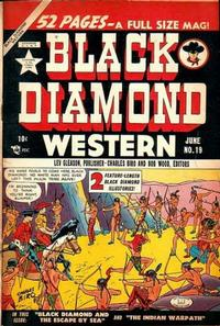 Cover Thumbnail for Black Diamond Western (Lev Gleason, 1949 series) #19