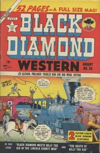 Cover Thumbnail for Black Diamond Western (Lev Gleason, 1949 series) #20