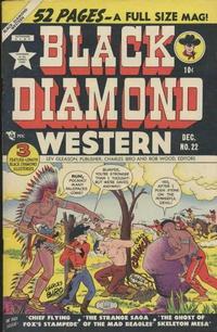 Cover Thumbnail for Black Diamond Western (Lev Gleason, 1949 series) #22
