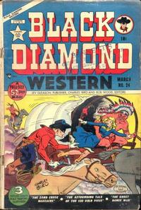 Cover Thumbnail for Black Diamond Western (Lev Gleason, 1949 series) #24