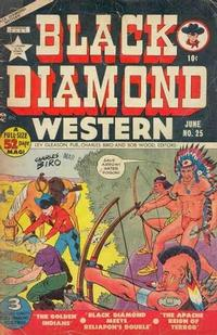 Cover Thumbnail for Black Diamond Western (Lev Gleason, 1949 series) #25