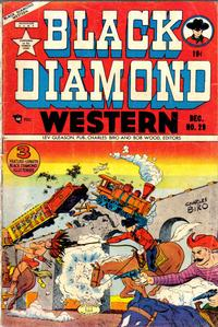 Cover Thumbnail for Black Diamond Western (Lev Gleason, 1949 series) #29