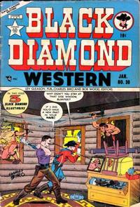 Cover Thumbnail for Black Diamond Western (Lev Gleason, 1949 series) #30
