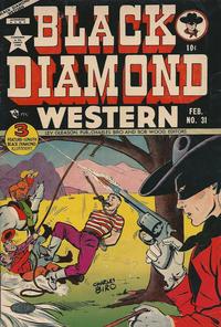 Cover Thumbnail for Black Diamond Western (Lev Gleason, 1949 series) #31