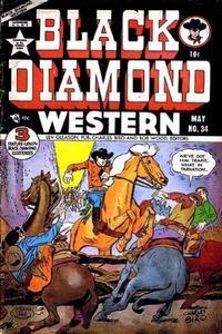Cover Thumbnail for Black Diamond Western (Lev Gleason, 1949 series) #34