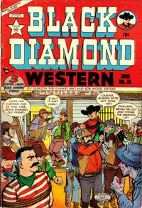Cover Thumbnail for Black Diamond Western (Lev Gleason, 1949 series) #35