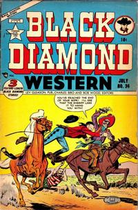 Cover Thumbnail for Black Diamond Western (Lev Gleason, 1949 series) #36