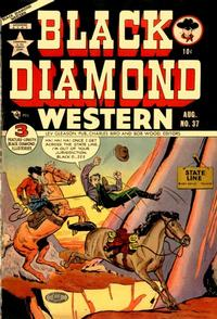 Cover Thumbnail for Black Diamond Western (Lev Gleason, 1949 series) #37
