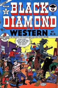 Cover Thumbnail for Black Diamond Western (Lev Gleason, 1949 series) #39
