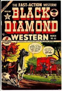 Cover Thumbnail for Black Diamond Western (Lev Gleason, 1949 series) #43