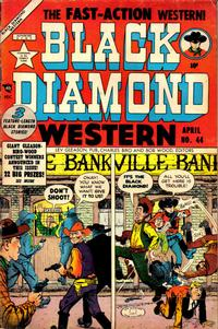 Cover Thumbnail for Black Diamond Western (Lev Gleason, 1949 series) #44