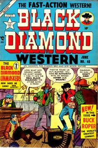 Cover Thumbnail for Black Diamond Western (Lev Gleason, 1949 series) #45