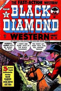 Cover Thumbnail for Black Diamond Western (Lev Gleason, 1949 series) #46