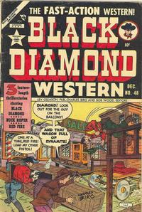 Cover Thumbnail for Black Diamond Western (Lev Gleason, 1949 series) #48