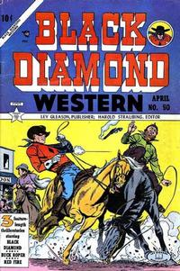 Cover Thumbnail for Black Diamond Western (Lev Gleason, 1949 series) #50