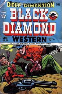 Cover Thumbnail for Black Diamond Western (Lev Gleason, 1949 series) #51