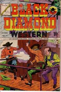 Cover Thumbnail for Black Diamond Western (Lev Gleason, 1949 series) #52