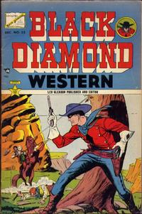 Cover Thumbnail for Black Diamond Western (Lev Gleason, 1949 series) #53