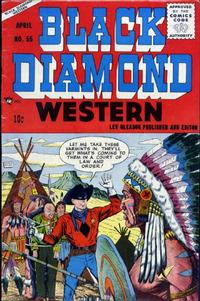 Cover Thumbnail for Black Diamond Western (Lev Gleason, 1949 series) #55