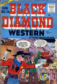 Cover Thumbnail for Black Diamond Western (Lev Gleason, 1949 series) #56