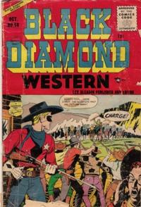 Cover Thumbnail for Black Diamond Western (Lev Gleason, 1949 series) #58