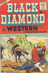 Cover Thumbnail for Black Diamond Western (Lev Gleason, 1949 series) #60