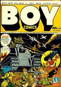 Cover Thumbnail for Boy Comics (Lev Gleason, 1942 series) #5