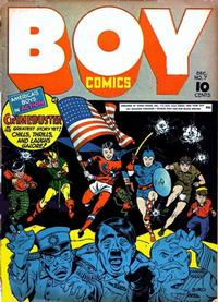 Cover Thumbnail for Boy Comics (Lev Gleason, 1942 series) #7